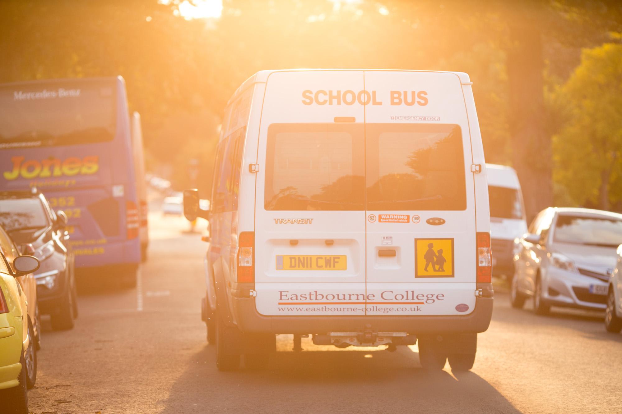 Eastbourne College minibus
