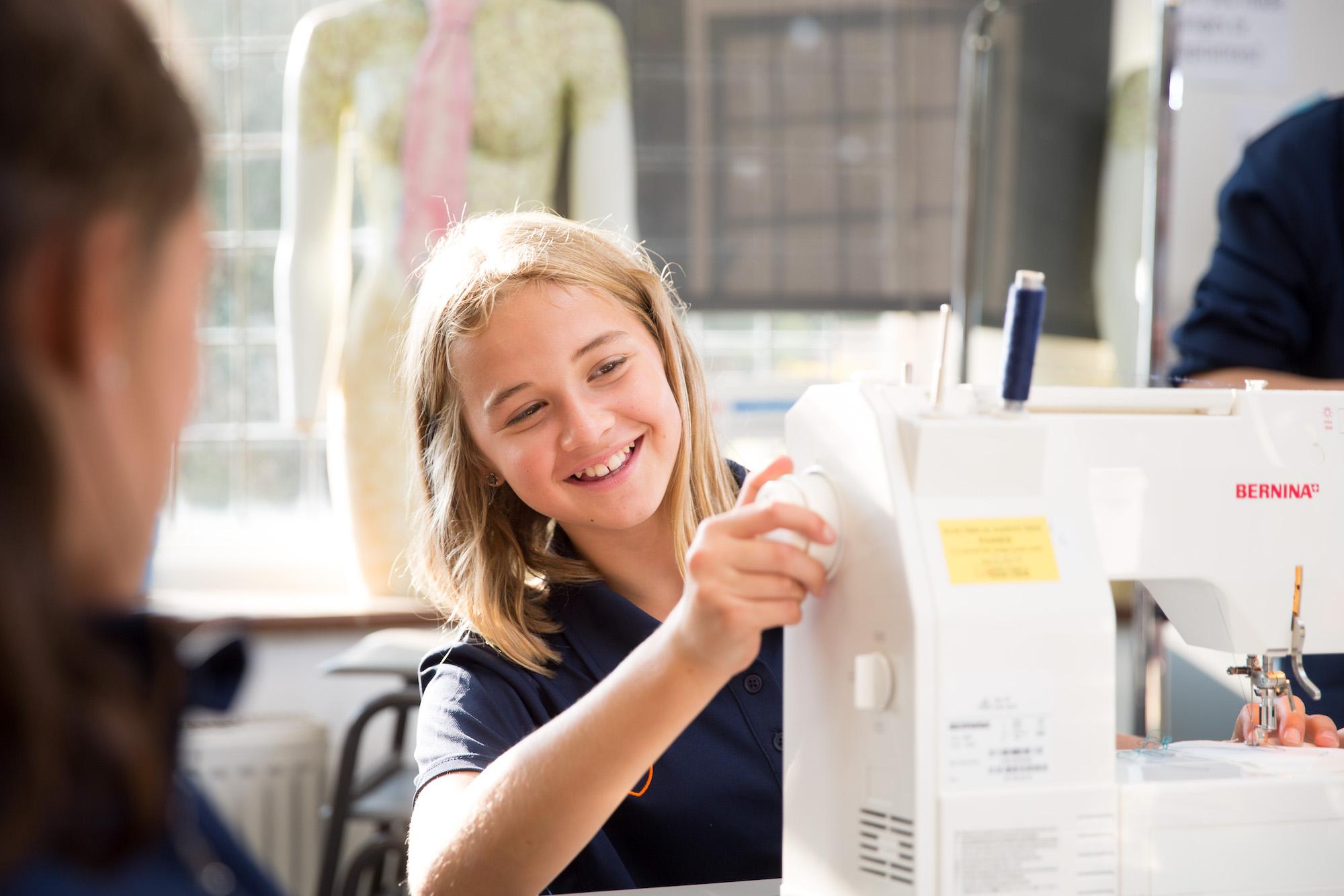 Eastbourne College textiles