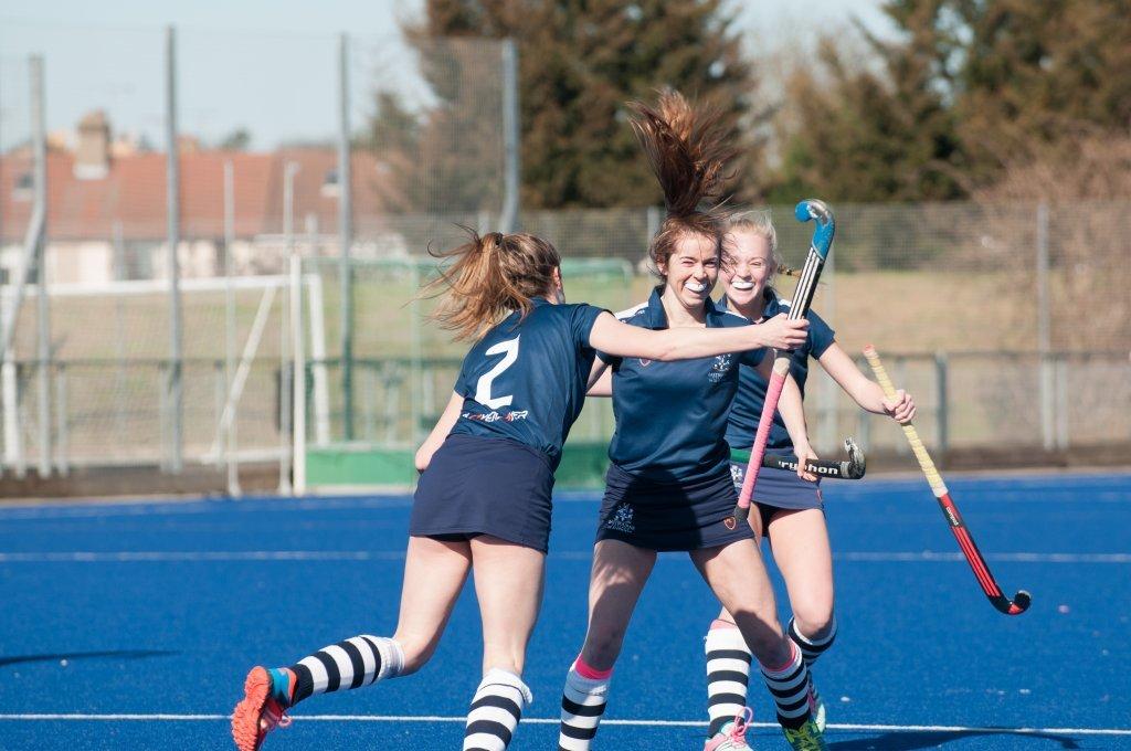 eastbourne college co-curricular sport girls hockey goal
