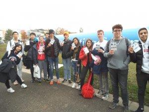 eastbourne college physics trip cern badges