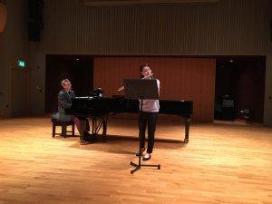Leah Hallinon eastbourne college recital