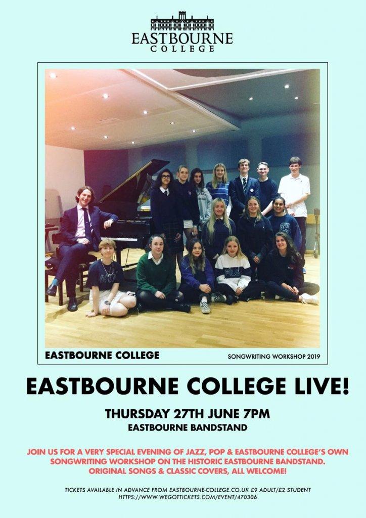eastbourne bandstand concert poster website