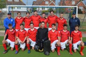 eastbourne college boys 1st xi hockey plate quarter finals