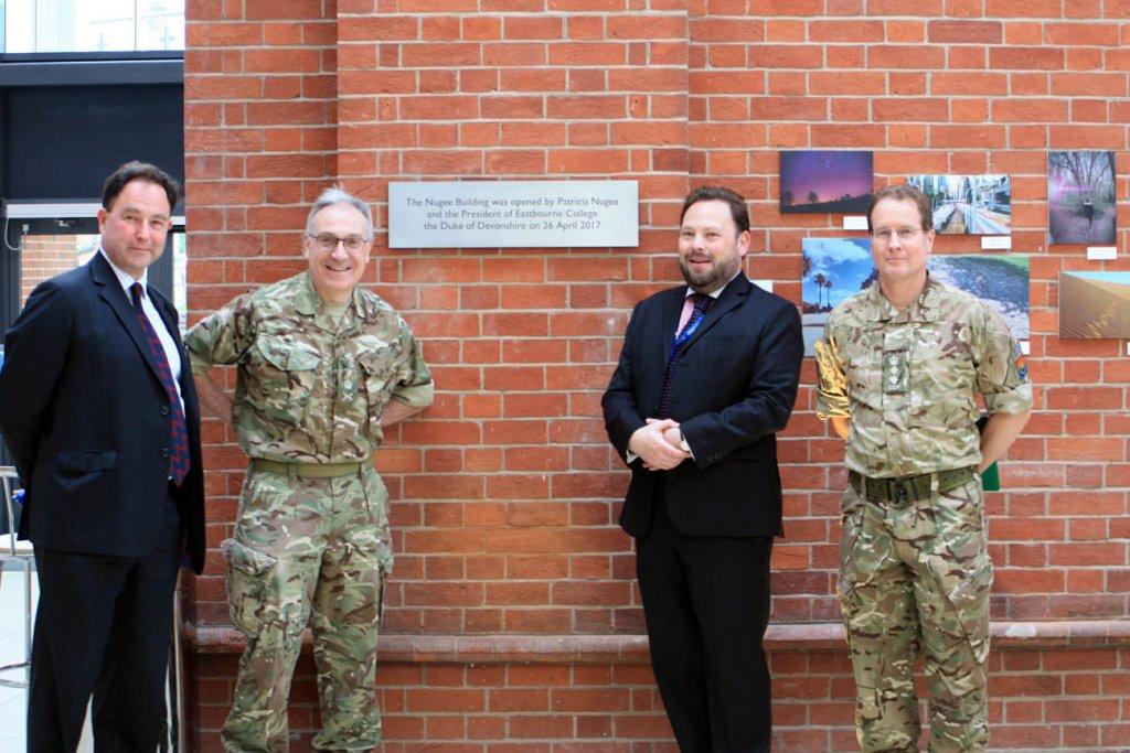 eastbourne college lt general nugee plaque