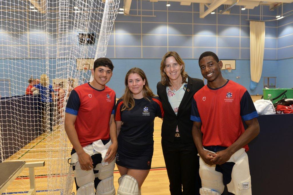 dame-katherine-grainger-visits-cricket-hopefulls