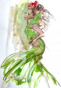 lindy dunbar figurative drawing