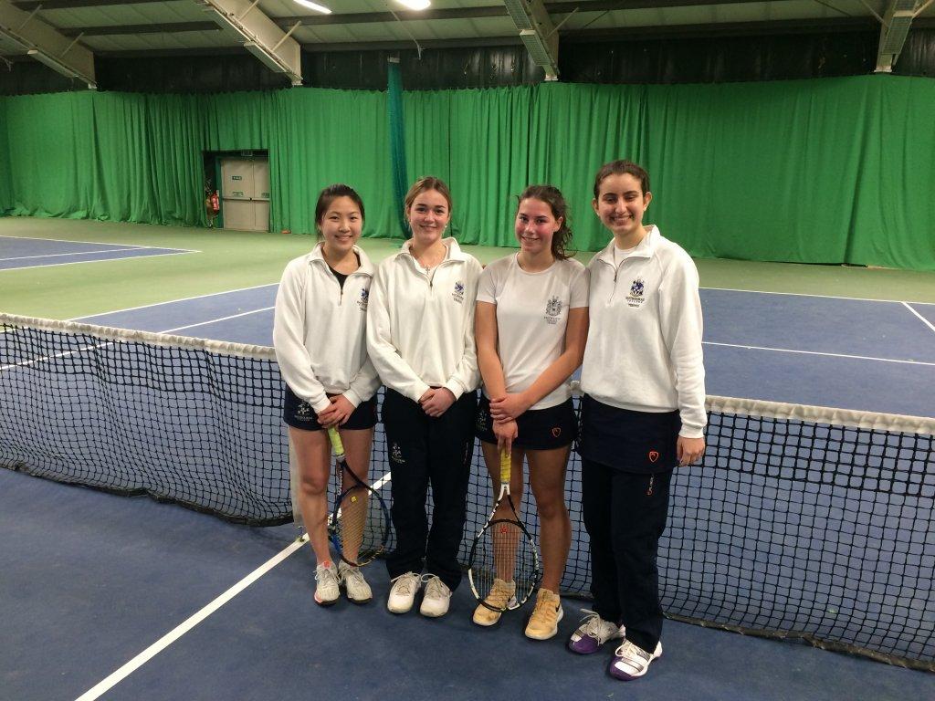 girls tennis team into national finals of the LTA School winter championship