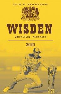 wisden cricketer's almanack cover for 2020